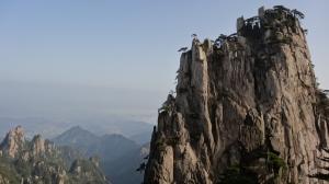 Huangshan's surreal landscape at the start