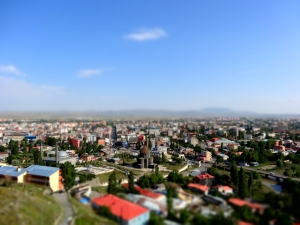 Kars from above