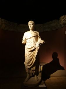 A Statue at the Archaeology Museum