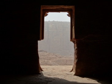 View from the Tombs